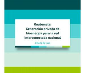 [Estudio de caso]:  LIBELULA  Guatemala: Generación privada de bioenergía para la red interconectada nacional